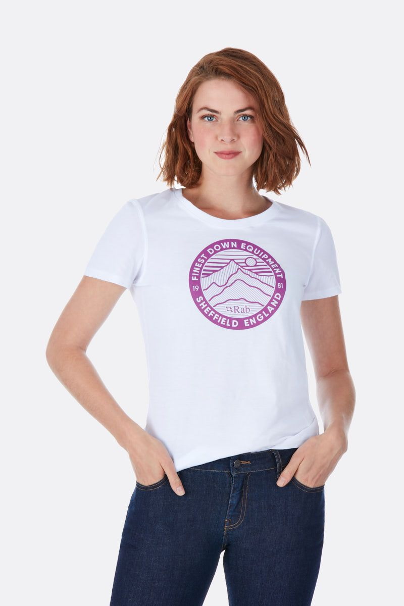Stance 3 Peaks SS Tee Wmns